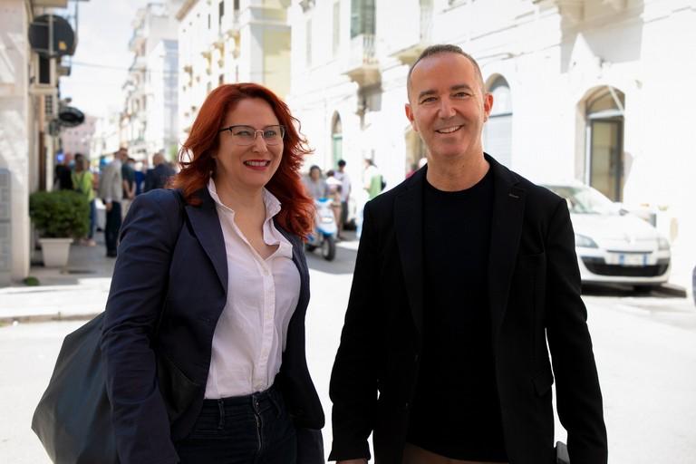Grazia Di Bari e Michele Coratella