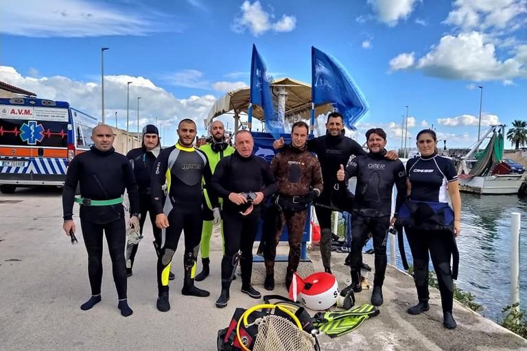 Il Centro Subacqueo di Andria a Trani per l'iniziativa nazionale #unitiperilmare 2.0