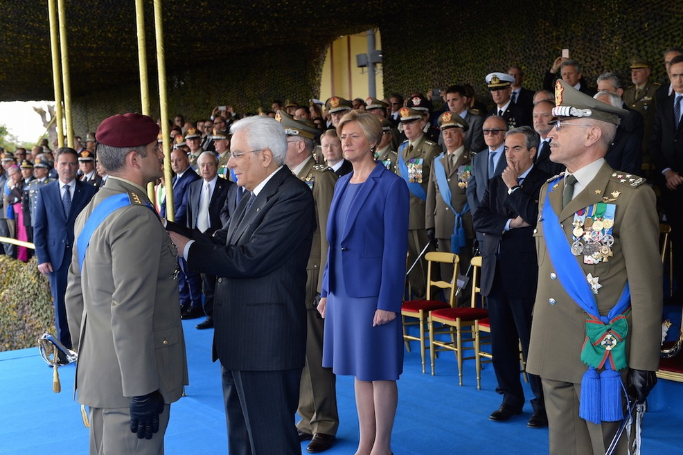 156° anniversario dell'esercito italiano