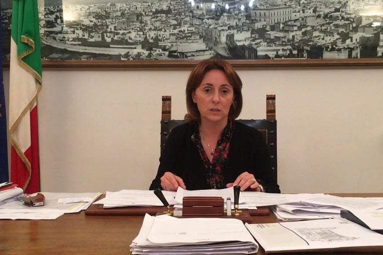 Il sindaco Giovanna Bruno JPG