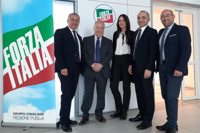 coordinamento regionale e il Gruppo consiliare di Forza Italia