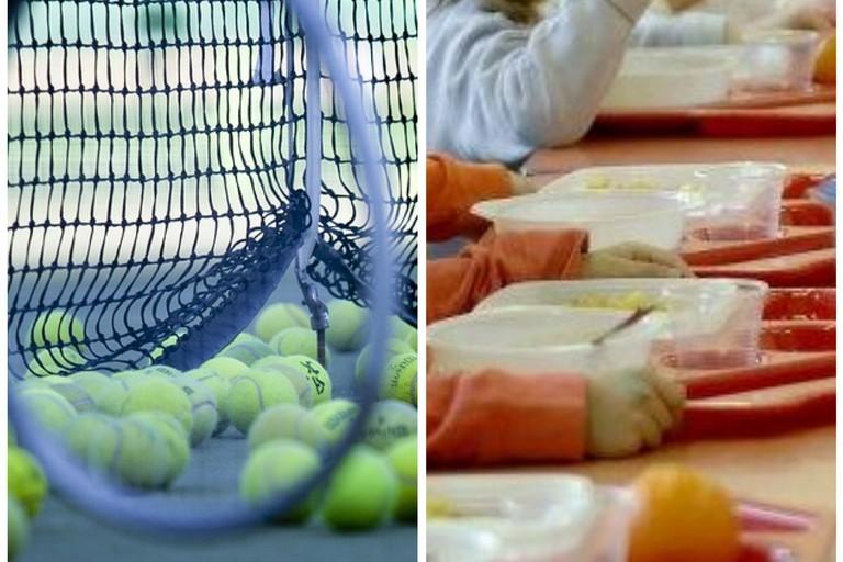 """37mila euro per il tennis, Coratella (M5S): """"Chi pensa alla mensa?"""""""