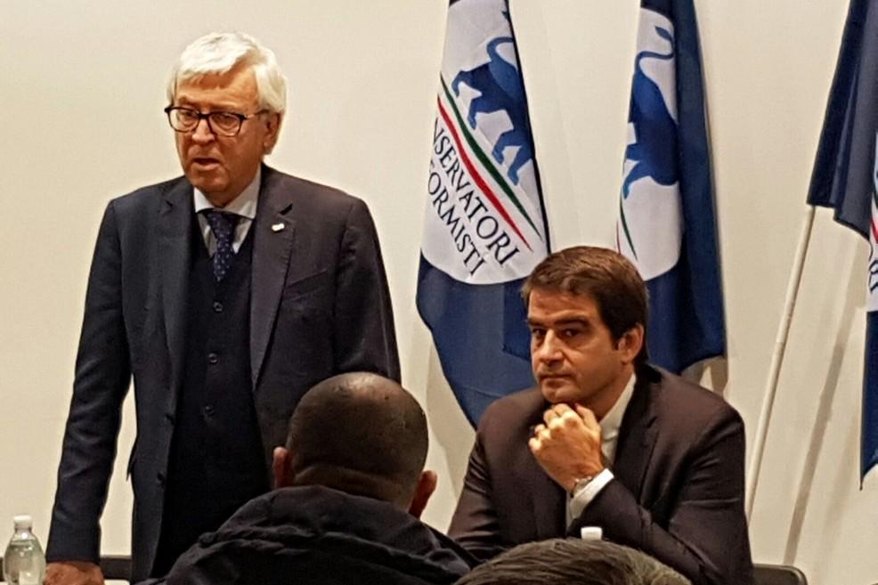 Raffaele Fitto e Benedetto Fucci