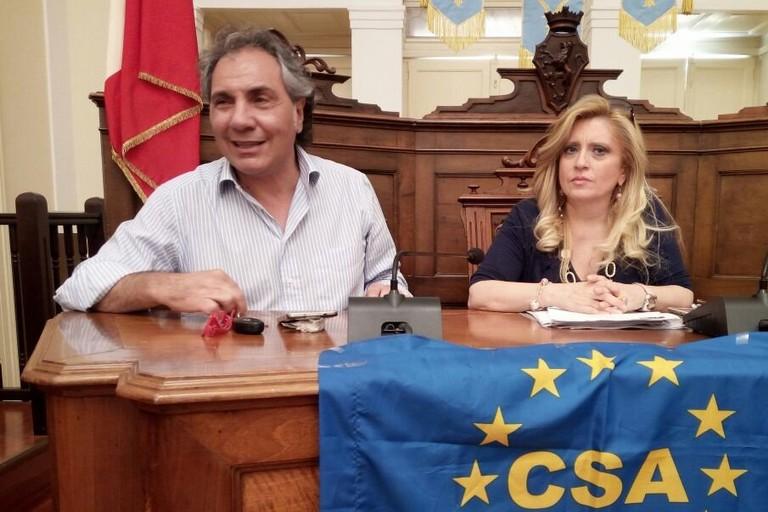 avv. Raffaella Scamarcio ed il dr. Nino Zonno