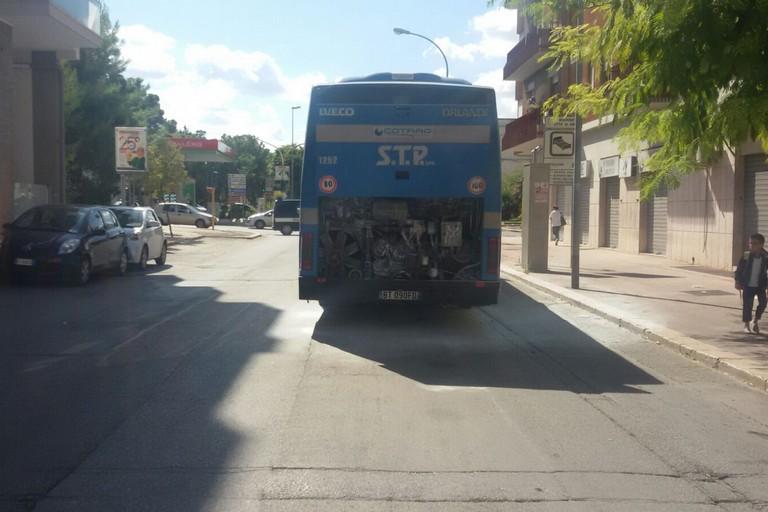 autobus della STP