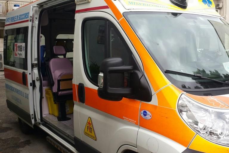 ambulanza servizio 118