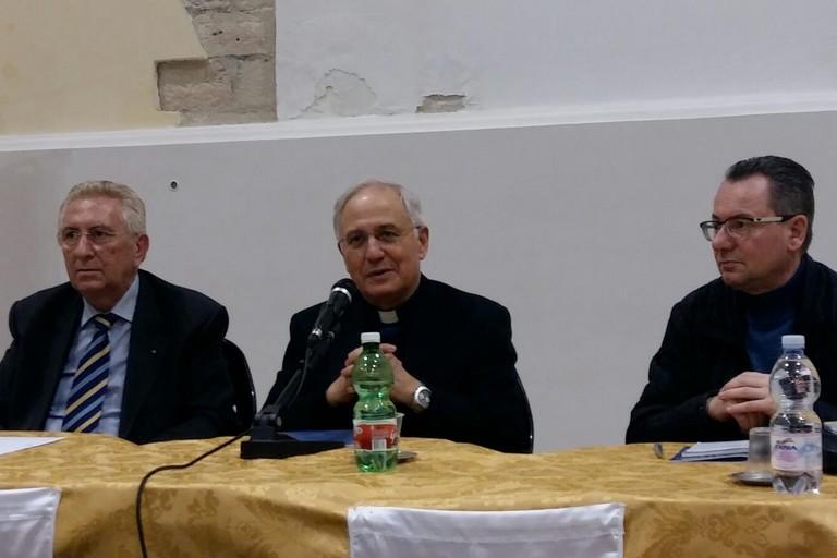 Mons. Mansi incontra i Cavalieri e Dame dell'Ordine Equestre del S. Sepolcro di Gerusalemme