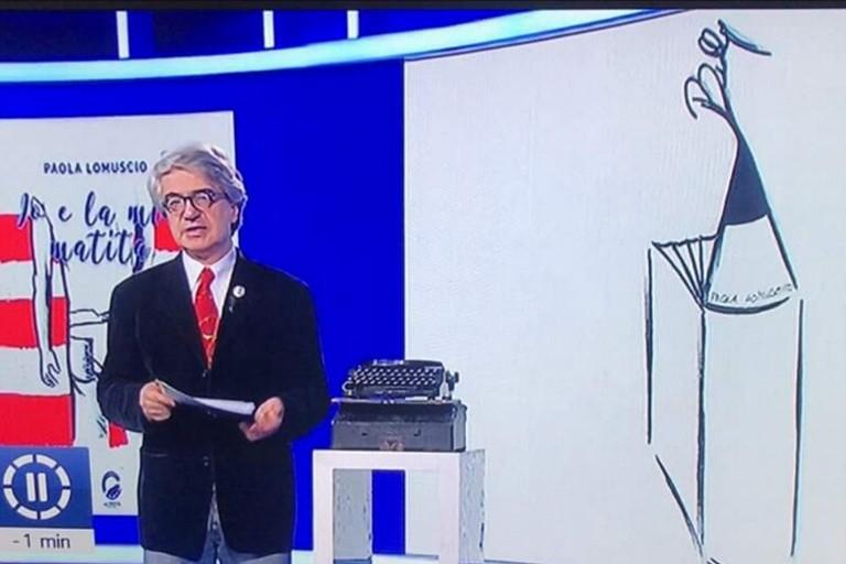 """""""Io e la mia matita"""" di Paola Lomuscio a Billy nel Tg1. IL VIDEO"""