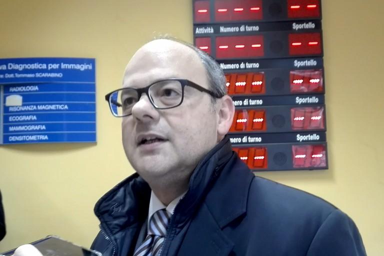 Alessandro Delle Donne, dirigente generale Asl Bat