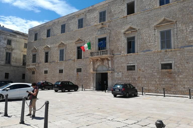 Tribunale di Trani (Foto Vincenzo Cassano)