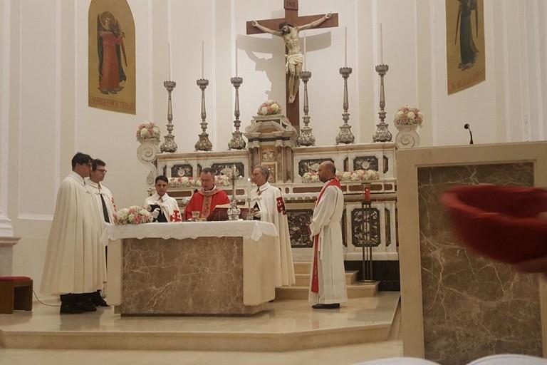 Festa dell'Esaltazione della Croce, Santa Messa presso la chiesa del Crocifisso
