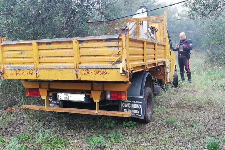 camion rubato