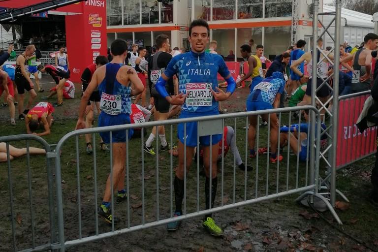 Pasquale Selvarolo primo fra gli italiani under 20 agli Europei di corsa campestre in Olanda