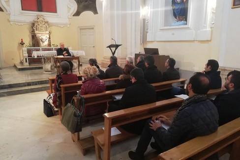 Momento di spiritualità con gli amministratori locali