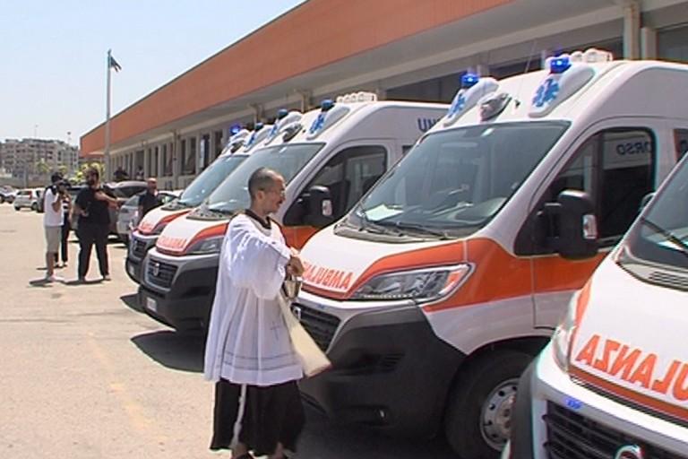 Sei nuove ambulanze AslBat