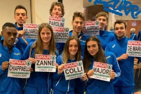 La Nazionale Under 23 agli Europei di corsa campestre a Lisbona