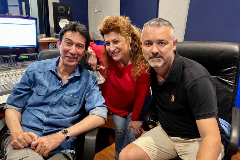 Sabino Matera con Umberto Sardella e Antonella Genga