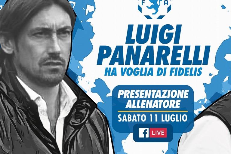 Luigi Panarelli è il nuovo tecnico della Fidelis