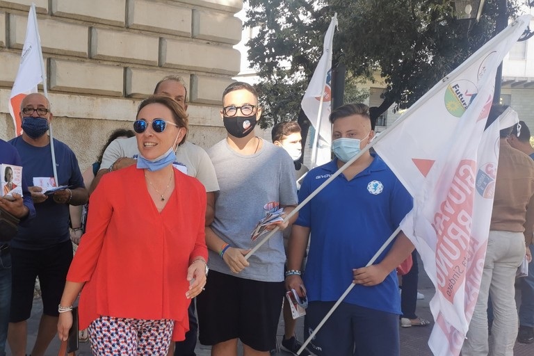 Ballottaggio ad Andria: Giovanna Bruno riparte con le Passeggiate del Programma
