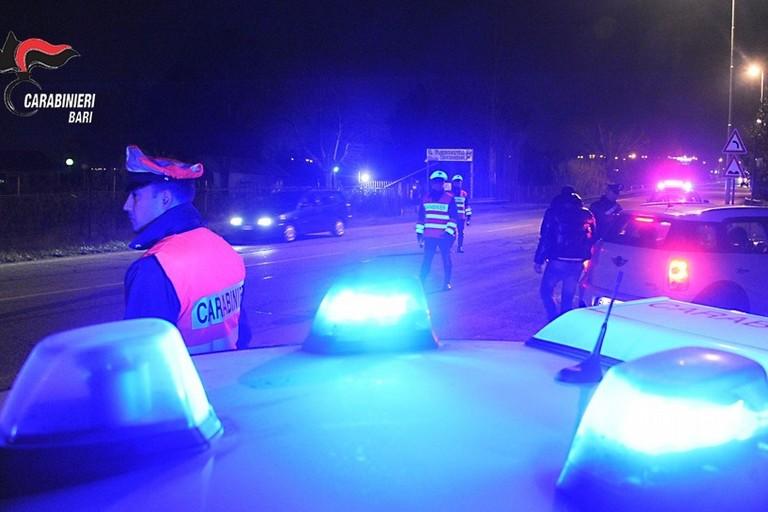 Controlli anti-Covid dei carabinieri