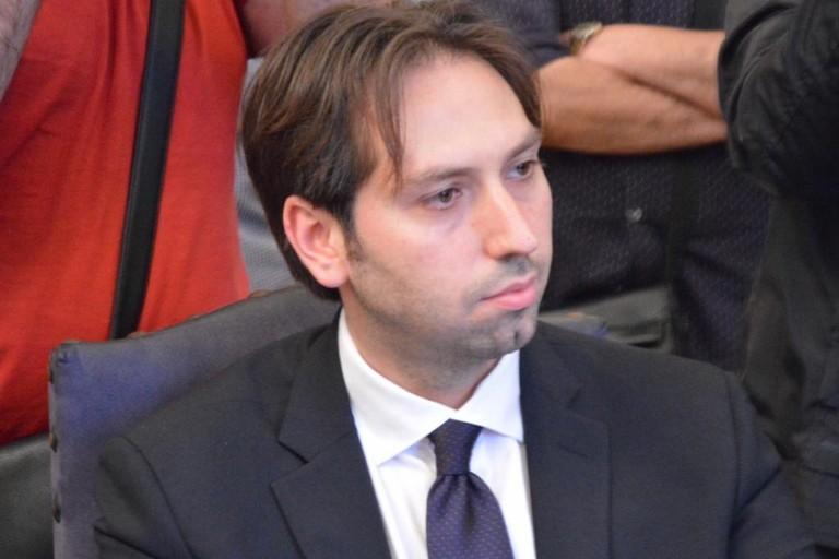 Gianluca Grumo, capogruppo e consigliere comunale della Lega