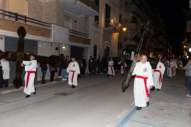 Processione dei Misteri. <span>Foto Riccardo Di Pietro</span>