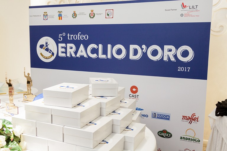 Trofeo Eraclio d'Oro: sul podio gli andriesi Montereale e Lastella