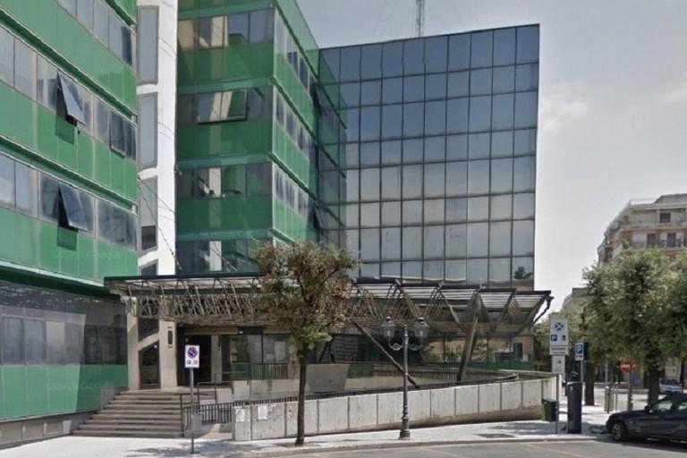 palazzo degli uffici comunali piazza Trieste e Trento