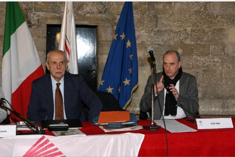 Francesco Burrelli e Ugo Calò