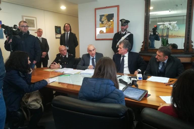 Conferenza stampa Procura di Bari e Carabinieri