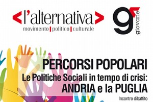 Alternativa Evento Politiche Sociali Andria