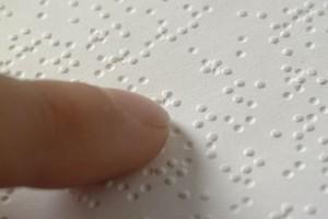 Linguaggio Braille
