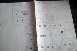 Cartina Liceo Scientifico ampliamento sette aule