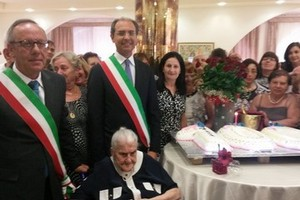 Nonna centenaria Andria e Trani