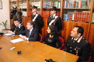 Conferenza stampa Carabinieri Andria