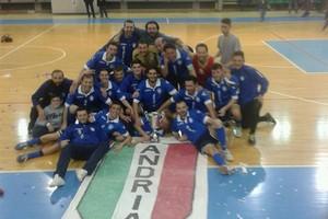 Futsal Andria campione di Puglia