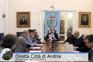 Giunta comunale Città di Andria