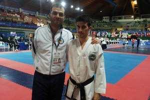 Giuseppe Lanotte, medaglia d'oro taekwondo