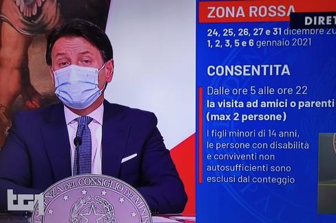 Conferenza stampa Conte