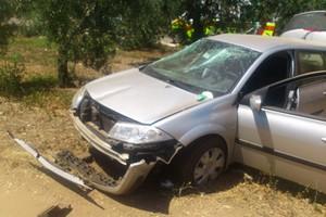 Incidente autovettura Andria - Bisceglie