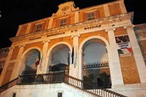 Facciata municipio Andria