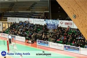 Audax Volley, pubblico match contro Real Orta Nova
