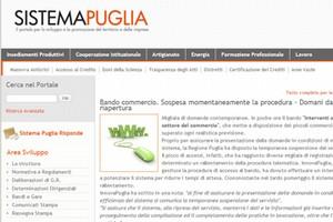 Sito Regione Puglia
