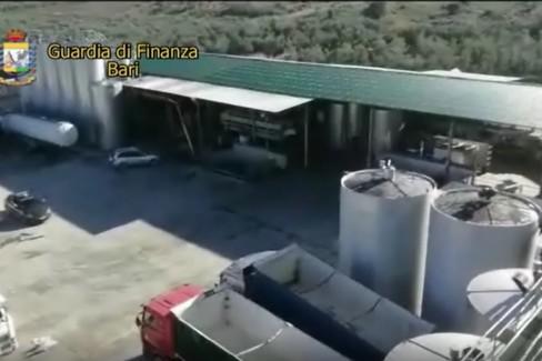 Video operazione Gdf ad Andria