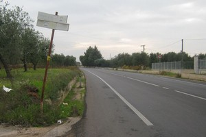 Andria - Bisceglie strada provinciale
