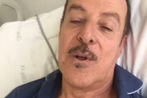 Videomessaggio di Massimo Lopez dopo l'infarto