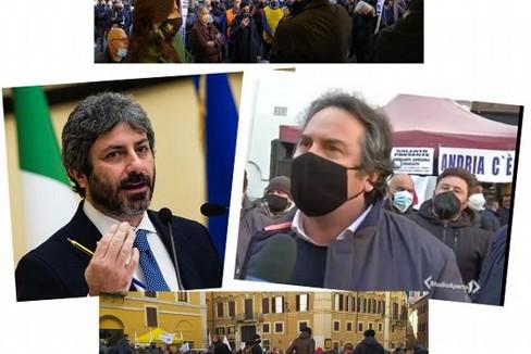 Manifestazione a Roma degli ambulanti