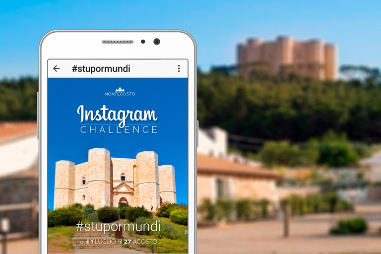 Castel del Monte è social con #StuporMundi, l'Instagram Challenge