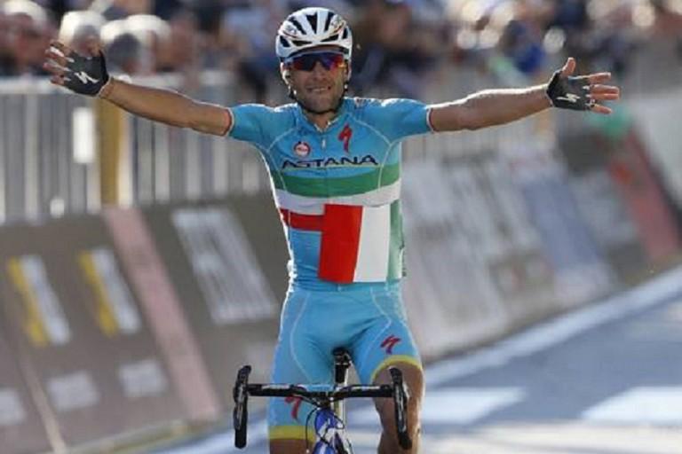 Il campione di ciclismo Vincenzo Nibali. <span>Foto La Gazzetta dello Sport</span>