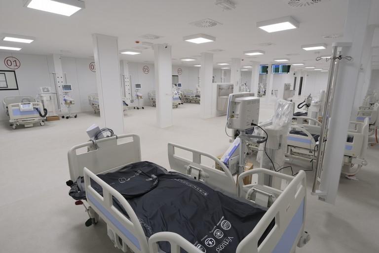 reparto ospedaliero covid 19